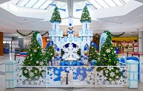 santa settings interior christmas decorations