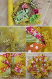 How To Make A Spring Wreath by Spring Wreath Simple Spring Decor Idea