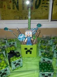 Minecraft Party Centerpieces by 64 Best Computer Mitzvah Images On Pinterest Birthday Party