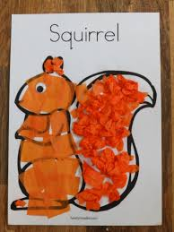 two squirrel crafts craftingcherubsblog