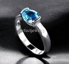 silver topaz rings images 2018 blue topaz ring men ring women rings 925 sterling silver blue jpg