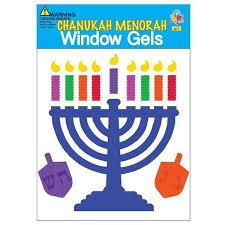 hanukkah window decorations window gel chanukah decorations hanukkah kids ahuva