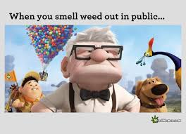 Hilarious Cartoon Memes - when you smell weed out in public funny cartoon weed memes