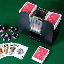 casino 6 deck automatic card shuffler sports outdoors