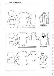 a felt nativity story free printable felting and patterns