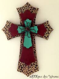 unique wall crosses unique wall crosses three layer leopard wall cross by