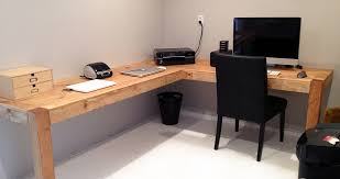 Diy Home Office Desk Plans Stunning Diy Home Office Desk Contemporary Liltigertoo