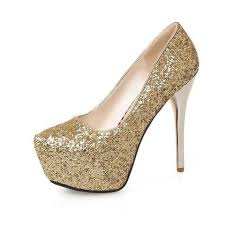 women high heel shoes wedding shoes women pumps with glitters le