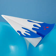 3d paper model airplanes print outs paper airplane to make floating wing glider 3d paper crafts