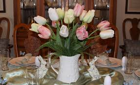 Easter Table Decorations by Easter Table Decorations The Enchanted Manor