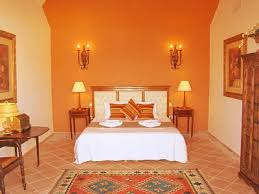 Ideas Para Pintar Una Habitación En Varios Colores Cream - Bedroom orange paint ideas