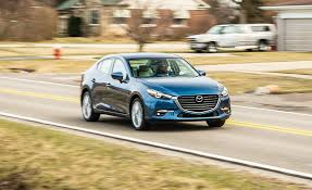 mazda sedan models list 2017 mazda 3 in depth model review car and driver