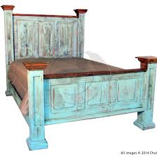 Turquoise Bed Frame Rustic Turquoise Oasis Bedroom S Mattress