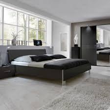 Schlafzimmer Spiegel Mit Beleuchtung Design Bett Jehava In Schwarz Mit Beleuchtung Pharao24 De