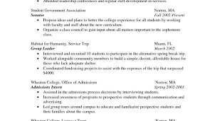 resume examples of college resumes pleasurable examples of high