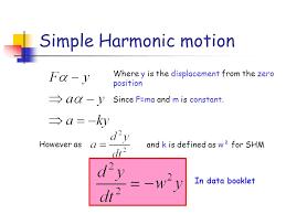 7 simple harmonic motion