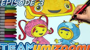 team umizoomi coloring book episode 3 milli team umizoomi car