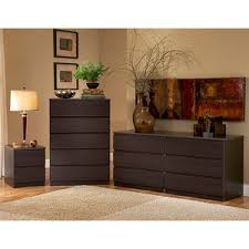 walmart bedroom furniture dressers laguna double dresser 5 drawer chest and nightstand set lacquered