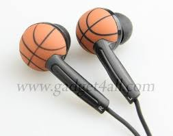 gifts for basketball fans basketball earphones mice lovers and fans