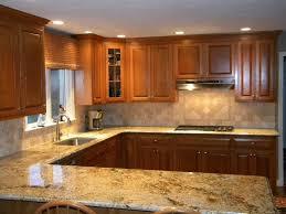 kitchen countertop and backsplash combinations granite and backsplash combinations namibian gold granite