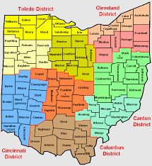 map of counties in ohio odjfs county agency directory and web