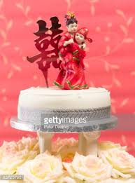 Senior Citizens Renewing Vows Wedding Cake Stock Photo Getty Images