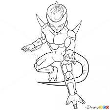 draw frieza dragon ball