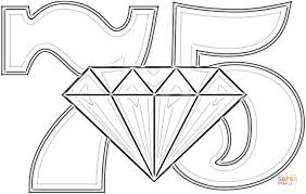 anniversary diamond wedding coloring supercoloring gekimoe