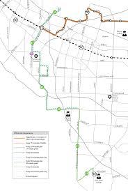 Vta San Jose Map by Routes 51 81 251 U2014 Vta