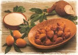 cuisiner manioc beignets à la farine de manioc manioc les iles