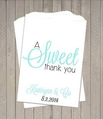 candy bar bags personalized wedding favor bag candy buffet bags personalized favor bags