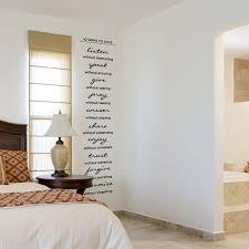 10 ways love wall art decal