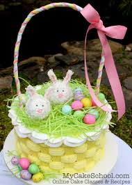 online easter baskets easter basket cake buttercream basketweave cake tutorial
