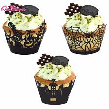Halloween Castle Cake by Halloween Decorated Cupcakes Spooky Halloween Cupcake