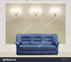 artistic blue couch stock photos images s shutterstock lear sofa