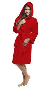 Full Length Bathrobe Teen Bathrobe Red