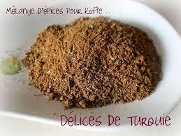 cuisine turque kebab mélange d épices pour köfte köfte baharat délices de turquie et