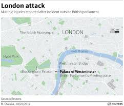 Global Incident Map Uk Parliament Terror Attack Highlights 4 Dead 20 Injured No