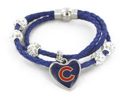 braided cord bracelet images Chicago cubs braided cord bracelet fan 39 s crate jpg
