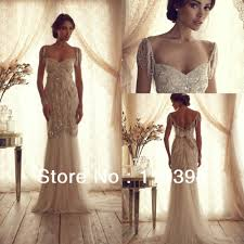 wedding dress with beading cbell luxury mermaid wedding dress vintage 2014 with