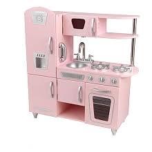 kidkraft pink vintage kitchen kidkraft toys r us