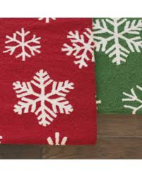 don u0027t miss this bargain snowflake runner rug red