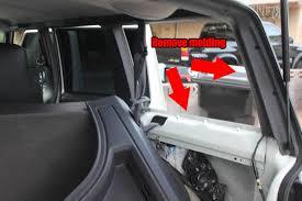 jeep grand xj how to install rear cargo window on a jeep xj and zj