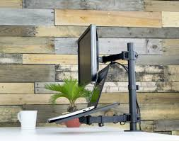 Wall Mount Laptop Desk by Stand V002c Monitor Laptop Desk Mount U2013 Vivous