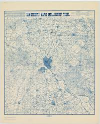 Dallas County Zip Code Map by Map Collection Texas State Library And Archives Commission