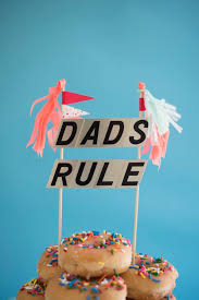 father u0027s day cake toppers diy oh happy day father cake and