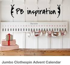 pottery barn hack u2013 diy jumbo advent calendar simplyschulze