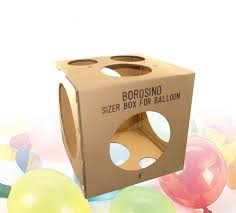 balloon in a box cheap balloon sizer boxes balloon sizer cubes for sale for