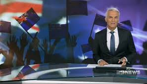 Red Flag Tv Show Australian News Show Accidentally Uses Nz Flag As Backdrop For