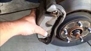 changing the brakes on a 2011 toyota sienna se youtube